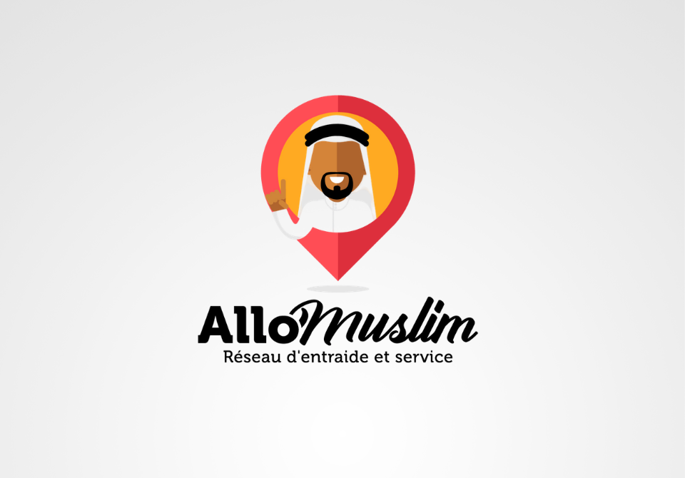 Logo Allo Muslim Designer web